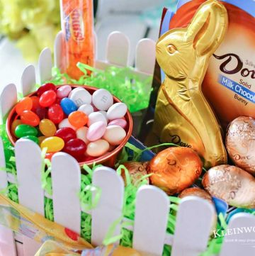 Picket Fence Easter Basket