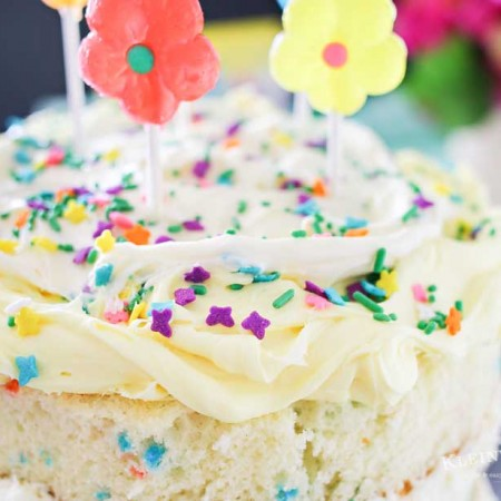 Spring Funfetti® Cake