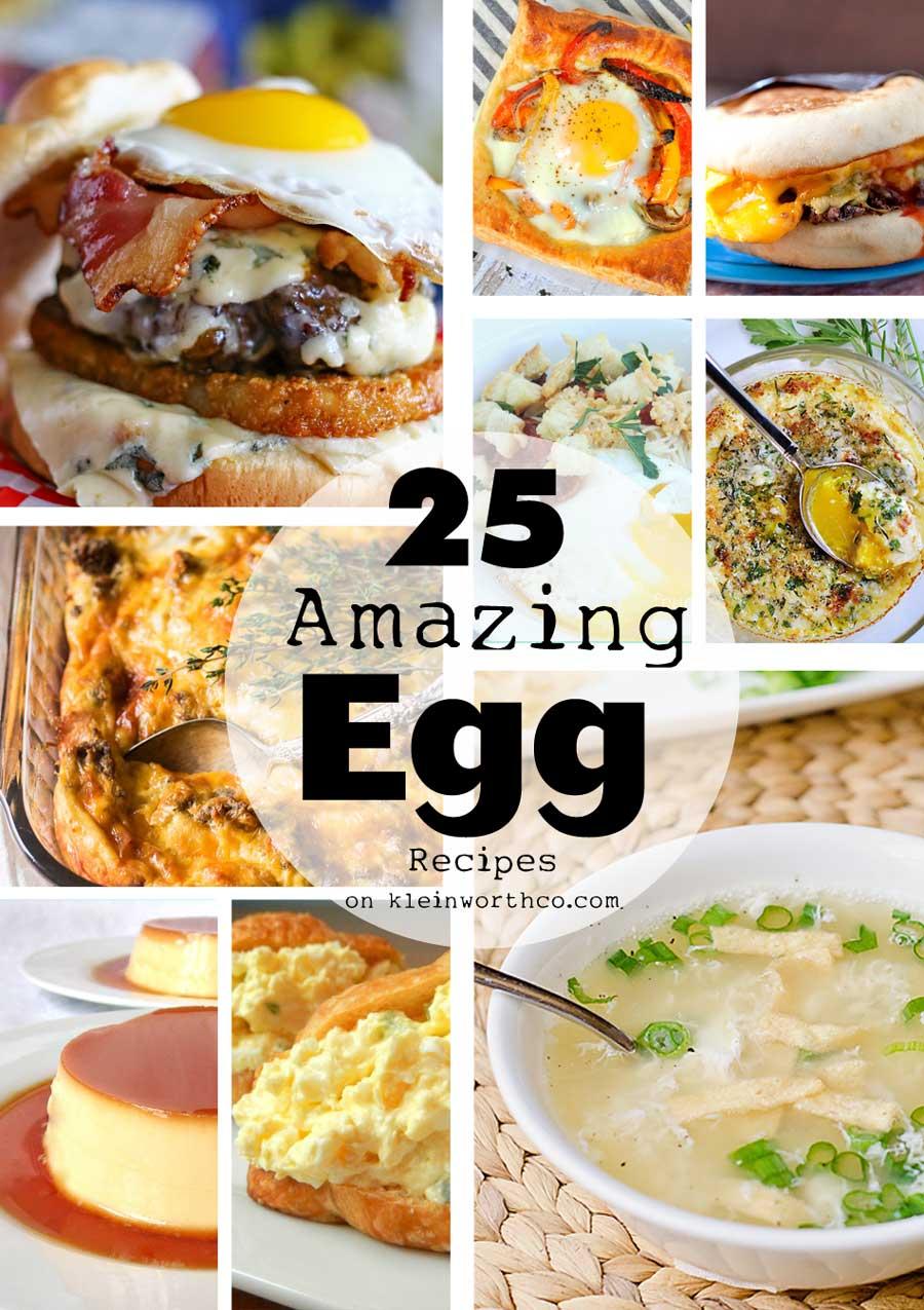 25 Amazing Teen Selfies: 25 Amazing Egg Recipes