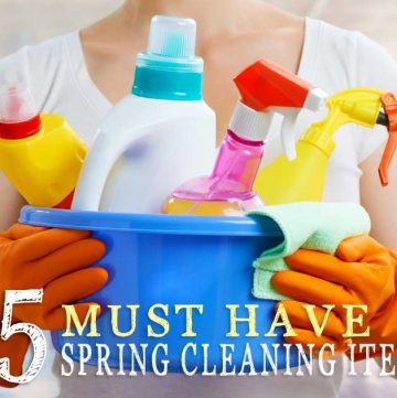 It's time to scour the house & purge the clutter. These Top 5 Must Have Spring Cleaning Items will help you get your nest sparkling clean & fresh in no time!