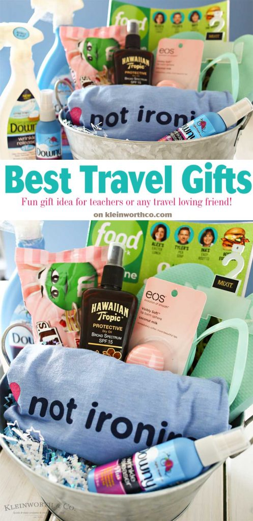 We're getting closer to travel season! Here are my Best Travel Gifts that all you jet-setters will appreciate to help stay fresh & pulled together. Just a few creature comforts with some necessities mixed in are perfect for those that are always on the go or just getting ready to set off on an epic trip.