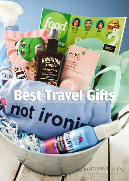 We're getting closer to travel season! Here are my Best Travel Gifts that all you jet-setters will appreciate to help stay fresh and pulled together. Just a few creature comforts with some necessities mixed in are perfect for those that are always on the go or just getting ready to set off on an epic trip.