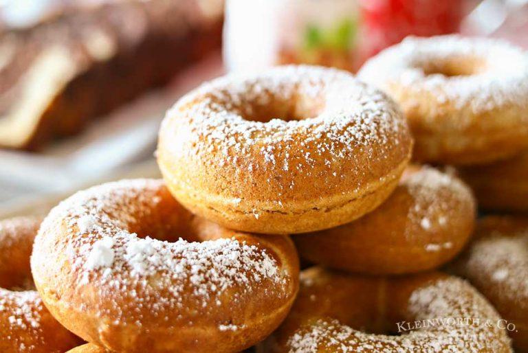 Whole Wheat Cake Donut Recipe