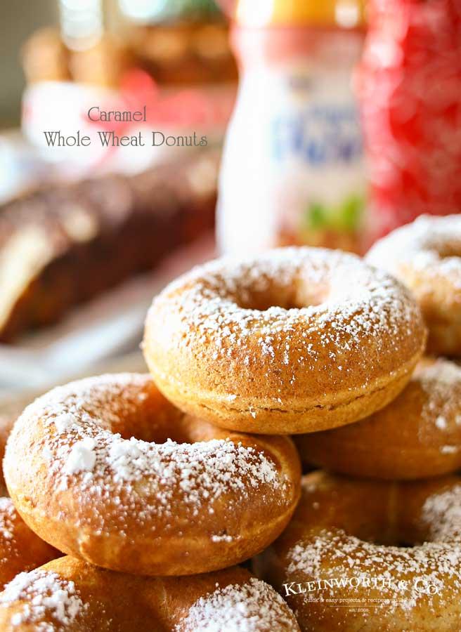 Caramel Whole Wheat Donuts Kleinworth Amp Co