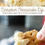 Cinnamon Cheesecake Dip is a great no-bake dessert dip recipe that is ready in less than 5 minutes. Just another great recipe using creamer & pudding mix to add to your parties or just a light after dinner treat.