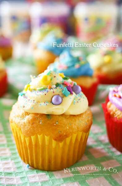 Funfetti® Easter Cupcakes