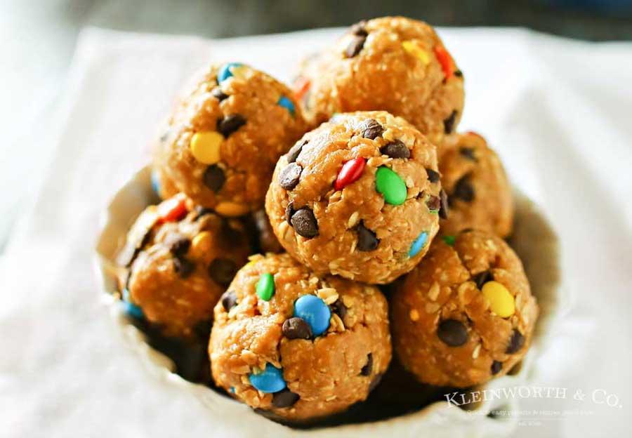 Monster Cookie Bites