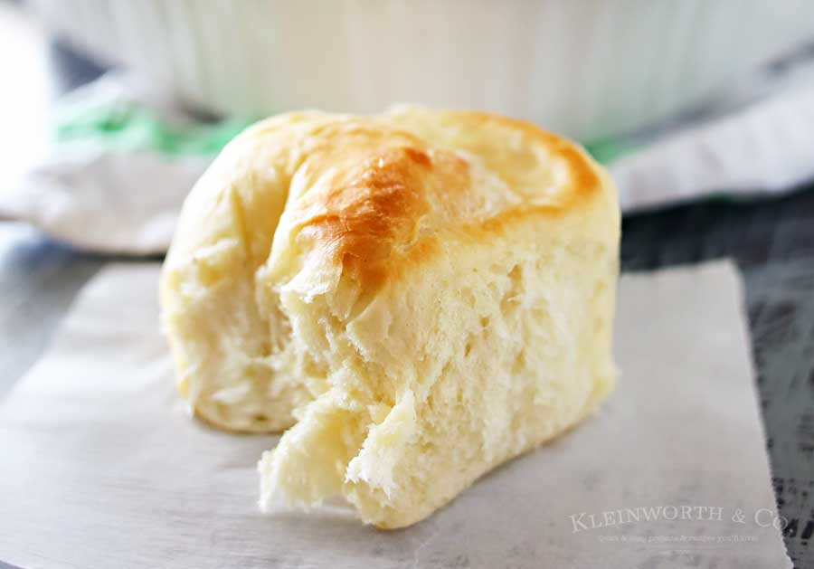 One Hour Dinner Rolls -easy recipe