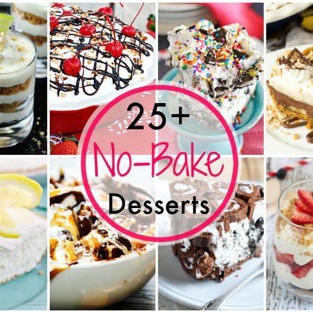 25 No Bake Desserts