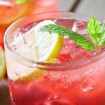 Blackberry Lemon Gin & Tonic