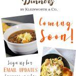 Easy Family Recipes : Dinners
