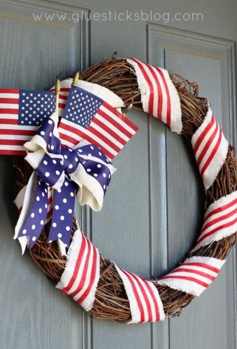 Old-Glory-Patriotic-Wreath