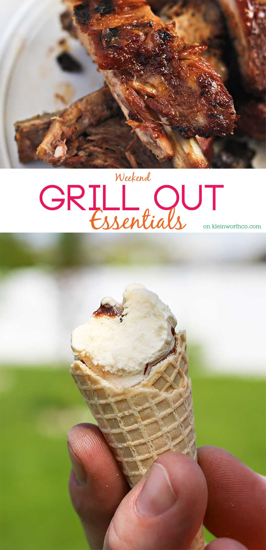 Don't start your weekend party plans without these Weekend Grill Out Essentials. The best of the best foods for all your outdoor entertaining this summer! You don't want to miss these!! YUM!