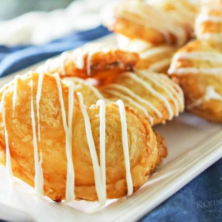 White Chocolate Palmiers