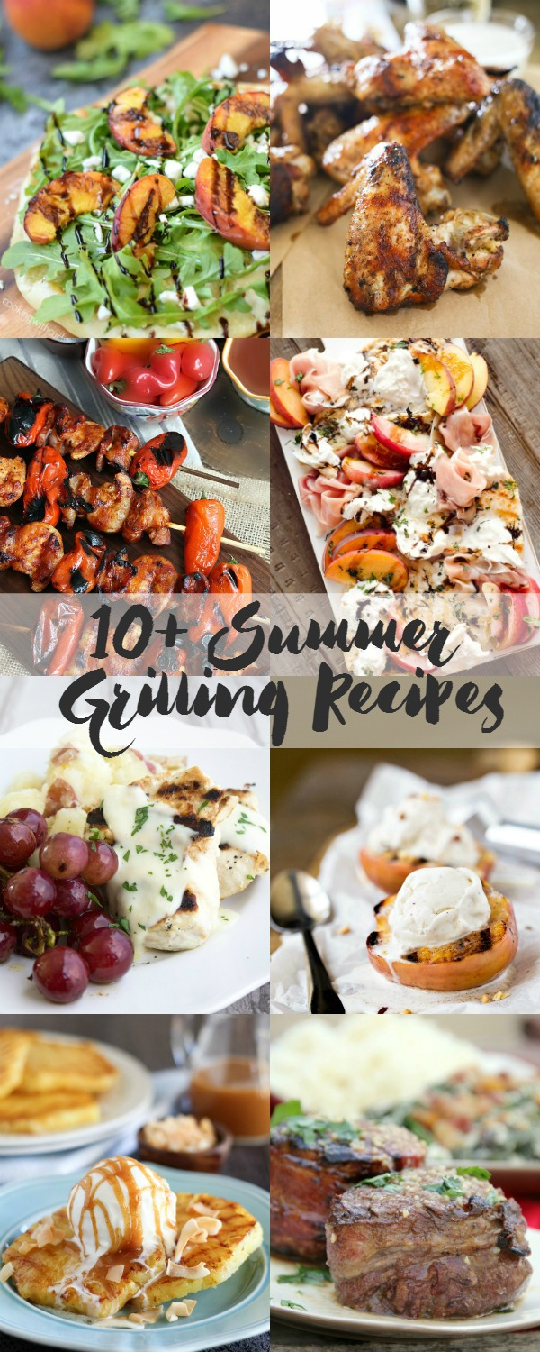 10+ Summer Grilling Recipes HERO