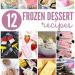 12 Frozen Desserts