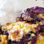 Blueberry Cobbler - Just 3 Ingredients