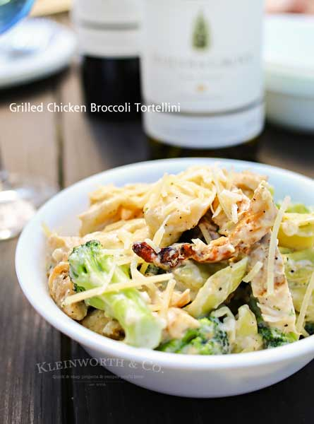 Grilled Chicken Broccoli Tortellini
