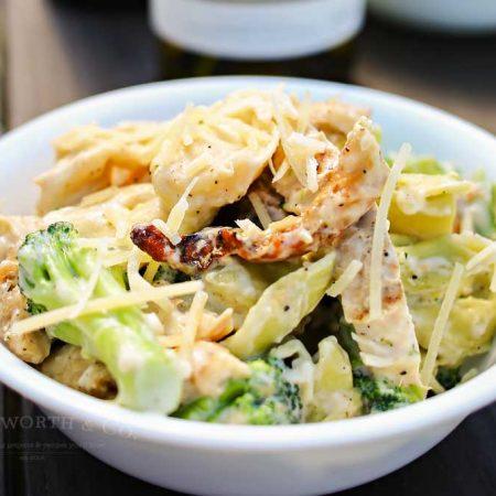 Grilled Chicken Broccoli Tortellini