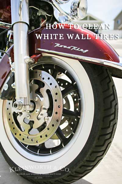 Need cleaning tips to keep those white wall tires like new on your classic vehicle? Don't miss How to Clean White Wall Tires & keep them sparkling clean.