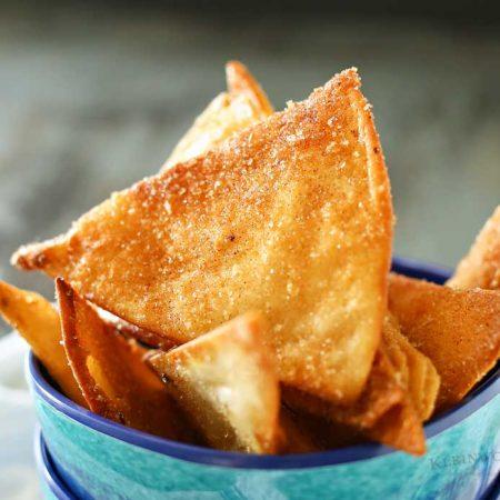 Salted Cinnamon Sugar Chips