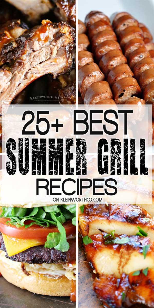Best Summer Grill Recipes