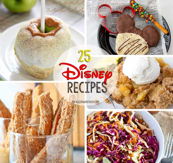 25 Disney Inspired Recipes