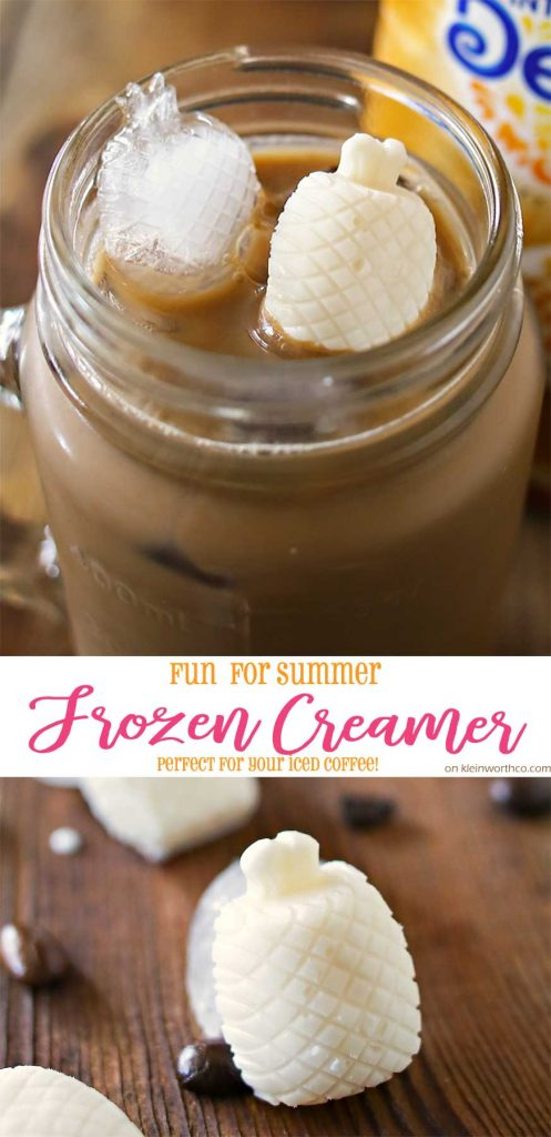 Fun Summer Frozen Creamer- for your iced coffee