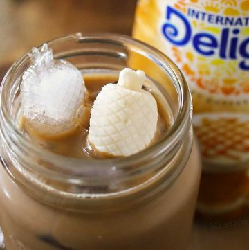 Fun Summer Frozen Creamer- for your pool party