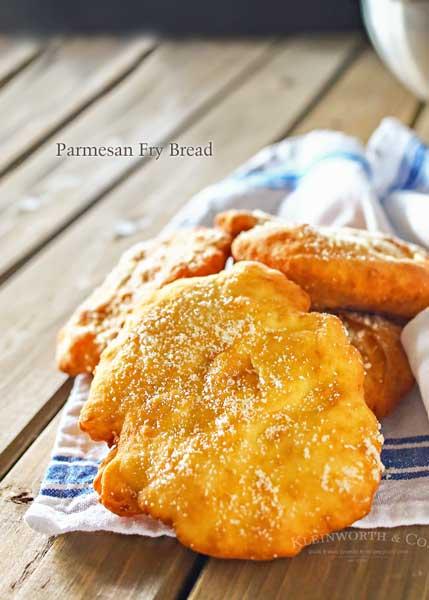 Parmesan Fry Bread