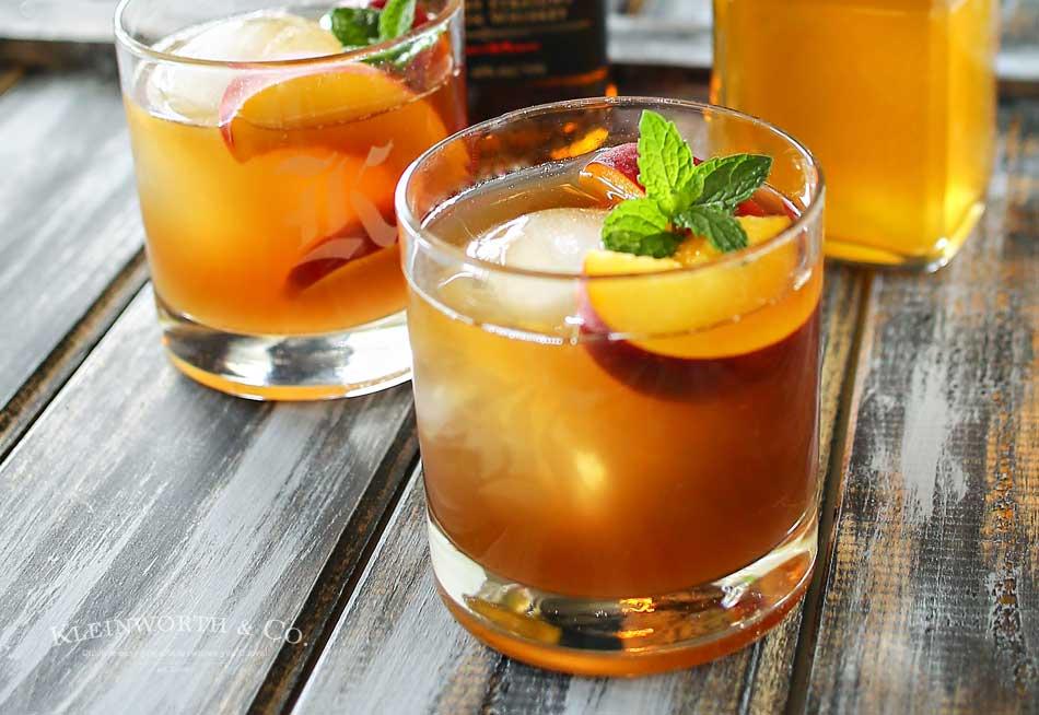 Peach Bourbon Arnold Palmer - Kleinworth & Co