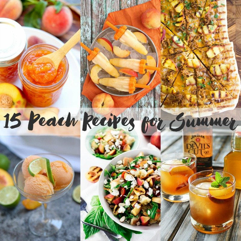 Awesome Peach Recipes
