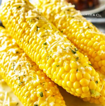 how to make Sea Salt Garlic Corn