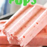 Strawberry Coconut Pops