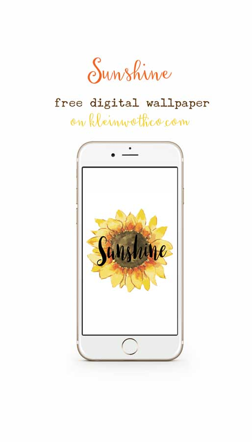Sunshine Free Digital Download