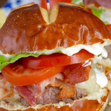 BLT Ranch Burgers