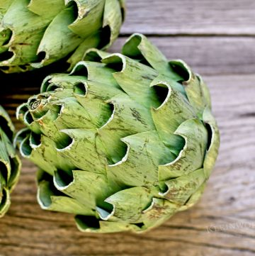 15 Minute Artichoke Recipe