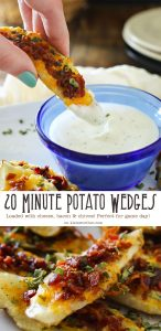 20 Minute Potato Wedges