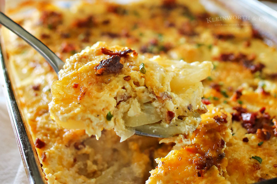 Bacon Scalloped Potatoes Recipe
