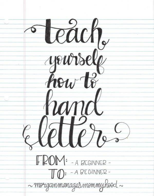 Hand Letter