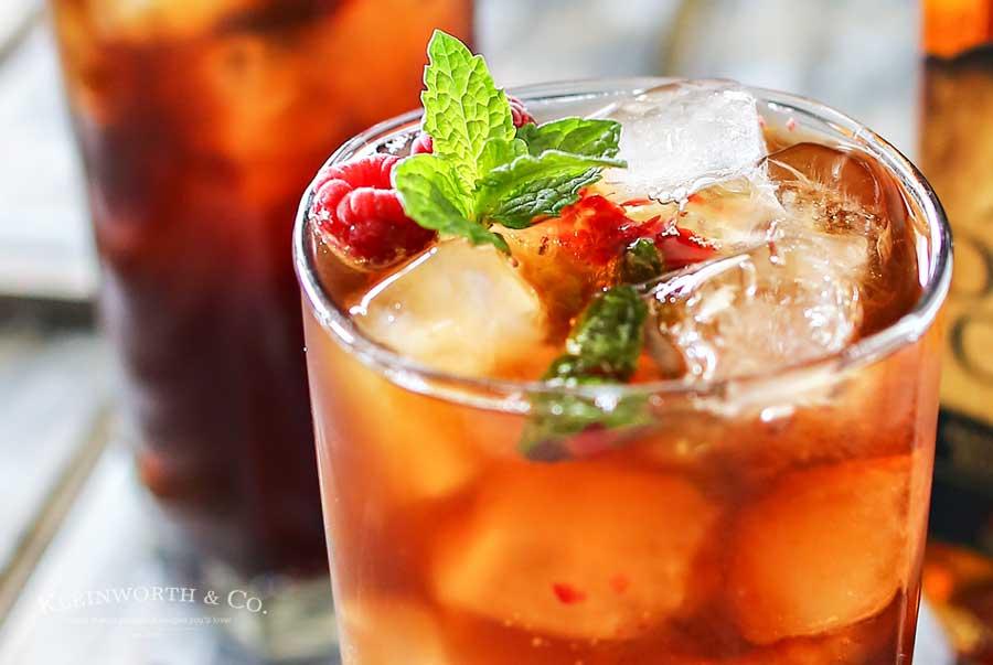 Raspberry Mint Hard Iced Tea