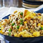 "Sausage Egg Rice Bowl : AKA ""Daddy Delicious"""