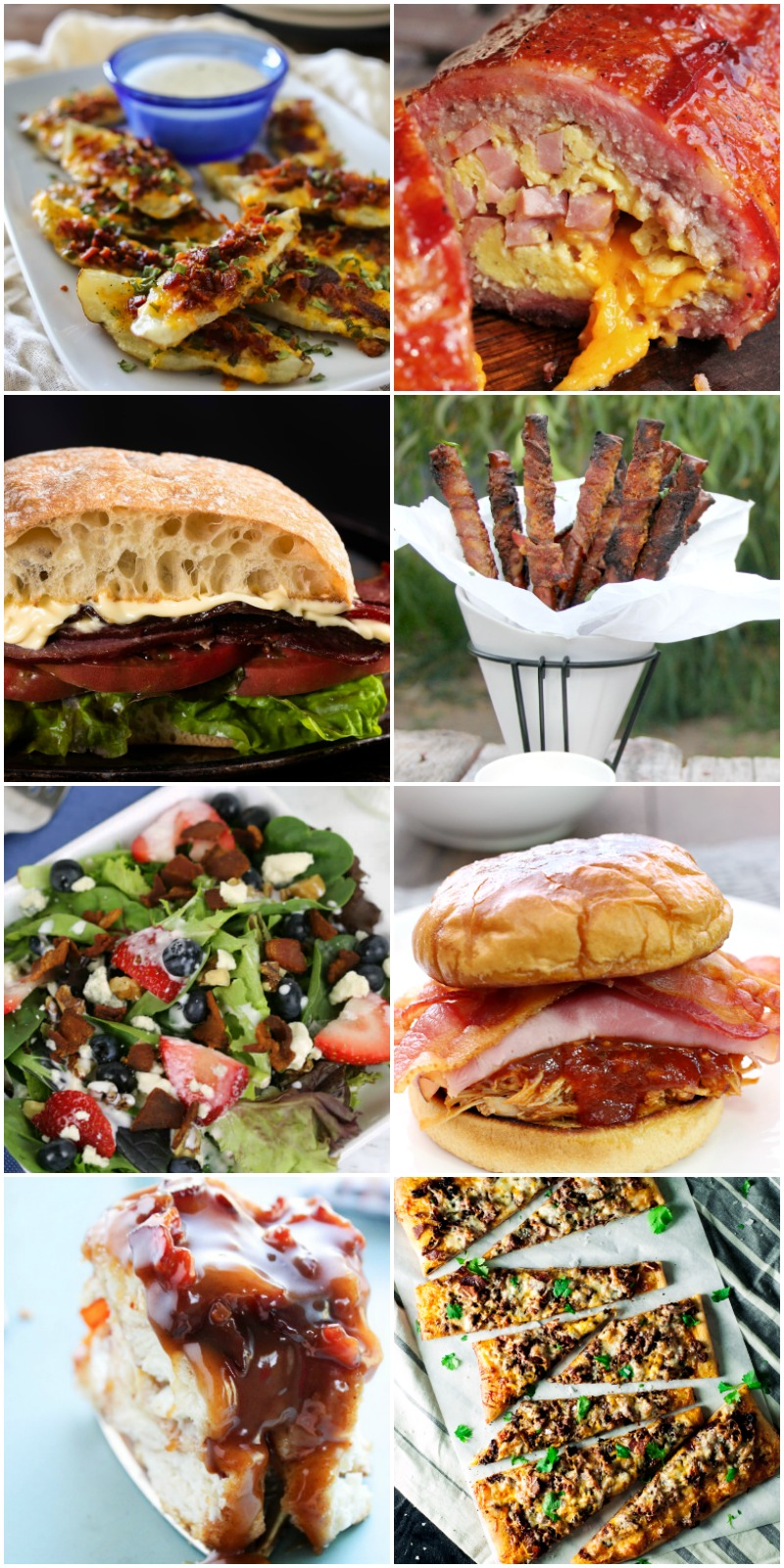 bacon bacon & more bacon recipes