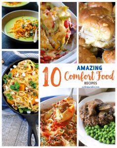 10 Comfort Food Recipes
