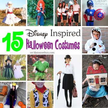 15 Disney Inspired Halloween Costumes