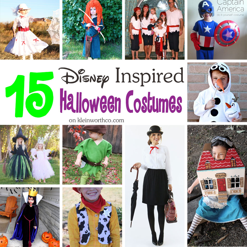 15 disney inspired halloween costumes - kleinworth & co