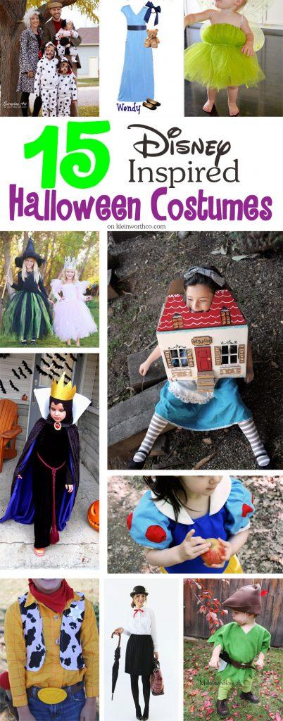 15 Disney Inspired Halloween Costumes