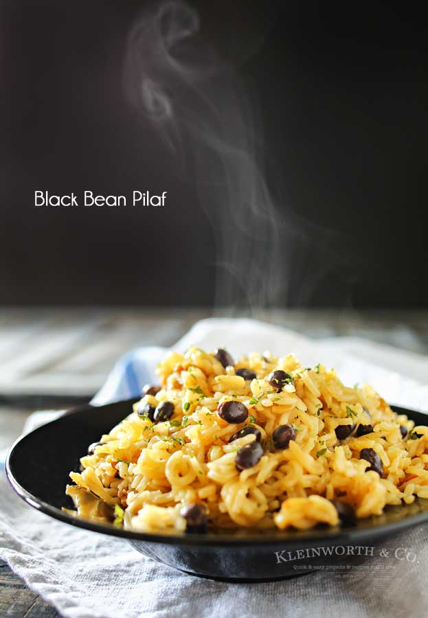 Black Bean Pilaf Recipe