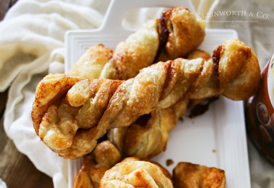 Easy Cinnamon Sugar Twists