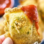 Baked Parmesan Ravioli